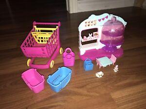 Lot de jouets Shopkins Little Poney Petshop