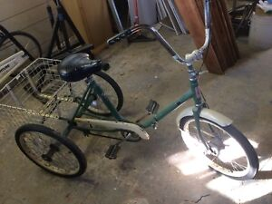 Vintage Adult Tricycle