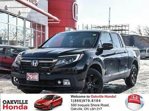 2018 Honda Ridgeline Black Edition Demo|Tonneu Cover|Hood Edge D
