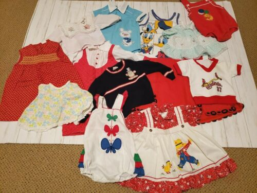 Vintage Baby / Toddler Clothes - Lot of 13