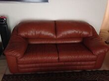 Leather Lounge Suite Hornsby Heights Hornsby Area Preview