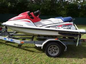 Jetskis and trailer Munruben Logan Area Preview