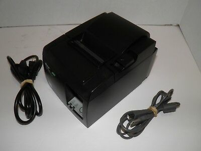 Star Tsp100ii Thermal Pos Receipt Printer Usb 143iiu W Power Cord Usb Cable