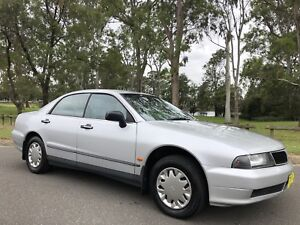 1997 Mitsubishi Magna Sedan 8months Rego Log Books Silver
