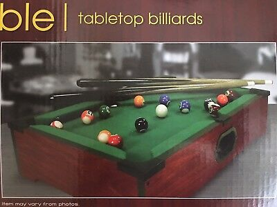 Westminster Tabletop Billiards Pool Table Fully Assembled, Comes w/ Balls, Stick for sale  Los Angeles