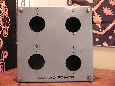 Hoffman Electric Box A-808sc J P Box Control 1213 Type