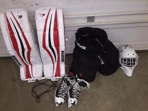 Selling goalie equipment still in good condition open for offers