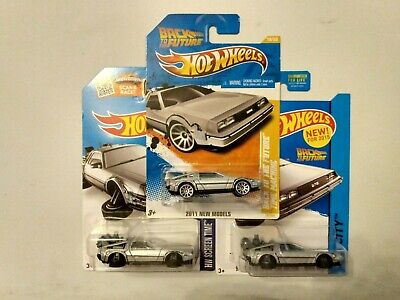 Hot Wheels 1:64 Retro Entertainment Diecast Back To The Future Time Machine...