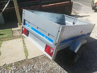 MP6815 MAYPOLE CAR TRAILER (SY150) 150 X 105 X 40cm 499KG WITH  COVER
