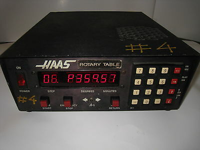Haas Control 11 Pin Box Cnc Rotary Table Indexer ----not Tested----