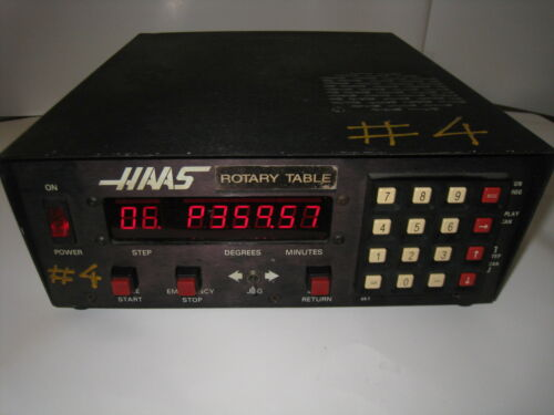 HAAS CONTROL 11 PIN BOX, CNC ROTARY TABLE INDEXER !!!!!----NOT TESTED----!!!!!