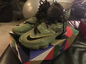 LeBron James basketball shoes. Soldier XIII