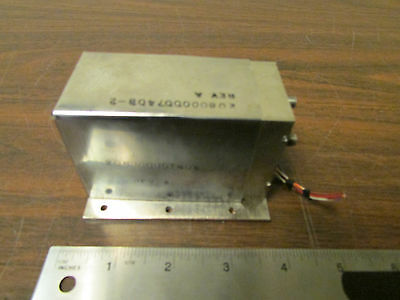 Sma Rf Microwave Oscillator Module 208000007408-2 Rev. A.