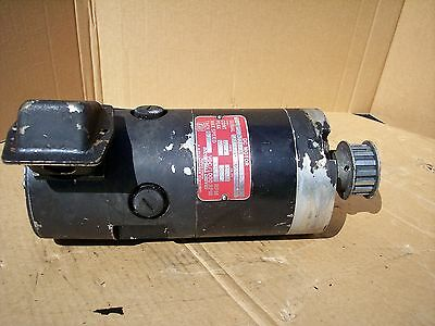 Industrial Drives Dc Servo Motor Tt-2933-3024-b1 Serial No. 87f148-209.