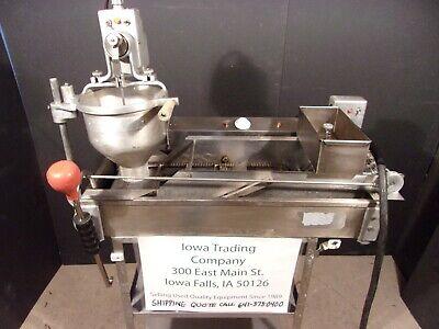 Donut Machine Fryer Maker Belshaw Donut Robot Dr-42  2400