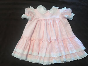 VINTAGE BABY DRESS FITS 18M