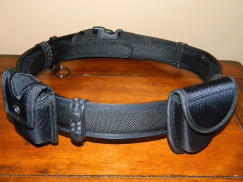 "NEW W/O TAGS Bianchi AccuMold Law Enforcement Nylon Duty Belt 38""-40"" With Accs."