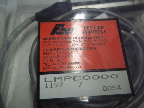 RED LION  SENSOR  LMPC0000   WITH MOUNT  5400100