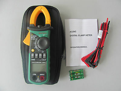 Ms2108 6600 True Rms Ac Dc Current Clamp Meter Cati