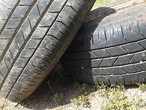235 / 70 / 16 tires and rims (8bolt)