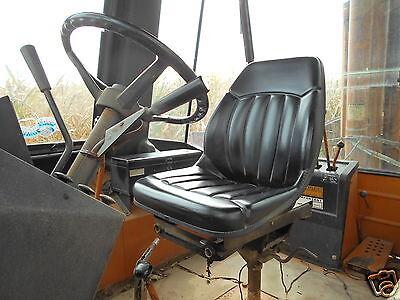 Case Backhoe Loader 580c580d580e580l580m Black Seat Skid Steer Loaders Iy