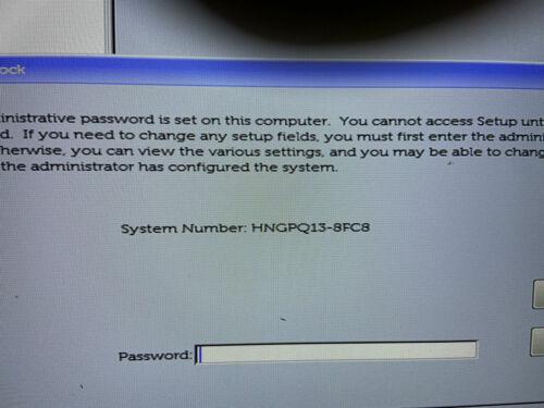 Unlock bios password Dell latitude 7400,latitude 5300,Dell Latitude 5400,8FC8