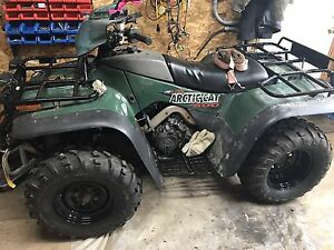 2000 arctic cat 500 4x4 foot shift