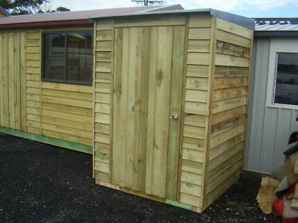 garden shed treated pine timber storage shed
