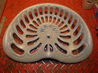 Farm Implement Seat W .e. Co Ltd Vintage Cast Iron Tractor
