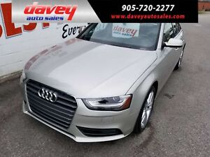 2013 Audi A4 2.0T Premium ALL WHEEL DRIVE, SUNROOF, NAVIGATION