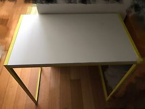 IKEA DESK WITH PINK CHAIR Chatswood Willoughby Area Preview