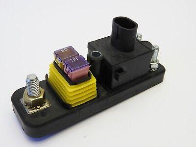 Bussman 37702-3fn3625 70a 12v Power Relay Module W 2-position Fuse Block