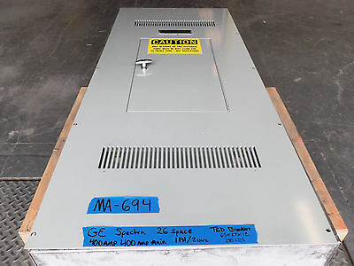 Ge 400 Amp Panel Panelboard 1 Phase Single One 240v120v 350 300 250