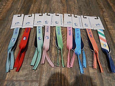 NEW Southern Tide Sunglasses Strap Croakies Sunglass Cords Preppy Frat Polo (Frat Straps)