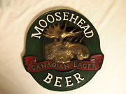 Moose Head Beer Sign