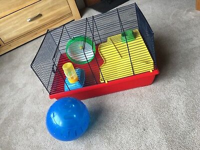 Peggy Hamster Cage Assorted 50x 36x 28cm X 2 Packs