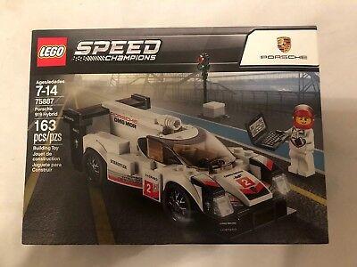 LEGO Speed Champions Porsche 919 Hybrid 2018 #75887 RETIRED SEALED SHIP GLOBALLY