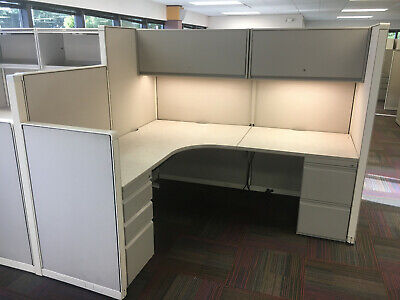 Used Steelcase Office Cubicles Worksations 6x6.5 6x9 6x11