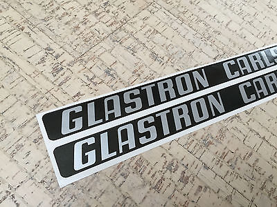 Glastron Carlson set of two engine cover decals + extra decal
