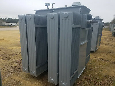 Reconditioned 2500 Kva Substation Transformer 13200 D - 480 Y 277