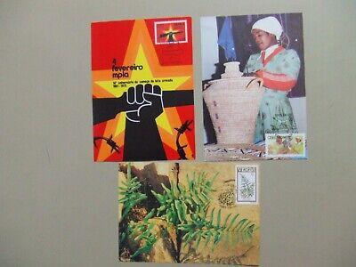 Three Africa countries maxi cards:Angola, Venda, Ciskei