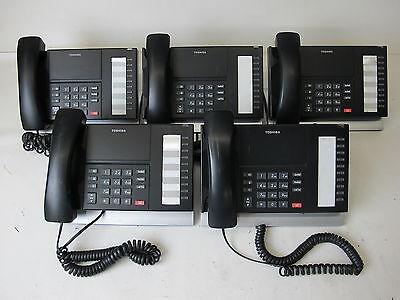 Lot Of 5 Toshiba Dp5018-s Digital Business Phone