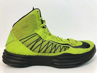 buy popular 2b9c9 ed46b NIKE HYPERDUNK Basketball Shoe Size 10.5 M Atomic Green 2012 Fast Shipping