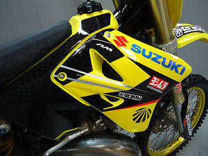 Suzuki RM125 RM250 2001-08 Factory Yoshimura James Stewart team graphics EJ2008