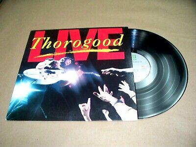 VINYL ALBUM,GEORGE THOROGOOD & THE DESTROYERS LIVE,BAD TO THE BONE,I DRINK