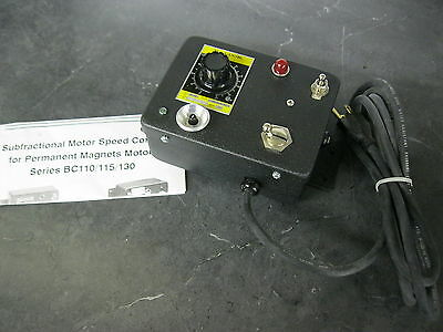Baldor Bc-110 Dc Controller Subfractional Motor Speed Control Permanent Magnet