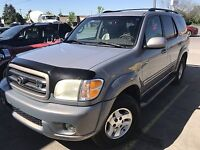 2002 TOYOTA SEQUOIA LIMITED -  TEXAS RUST FREE 6995.00 CERT London Ontario Preview