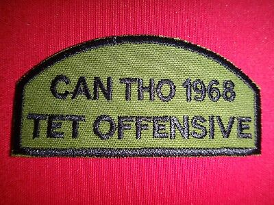 Vietnam War Patch CAN THO 1968 TET OFFENSIVE Lunar New Year Of The Monkey