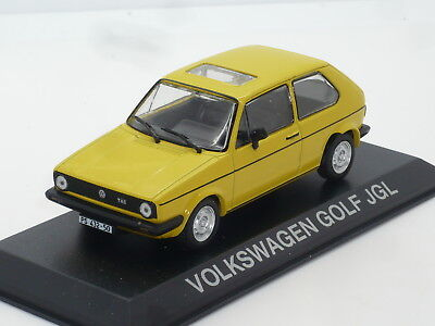 New 1:43 Ixo VW Golf Mk1 GL Yellow n Rabbit Jetta Vento TDi GTi GTD 1.6 1.8 Mk2 segunda mano  Embacar hacia Mexico