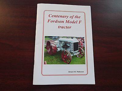 fordson 100 fordson f fordson 1917 fordson tractor fordson centenary book ford